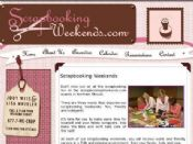 Visit the ScrapbookingWeekends.com site!